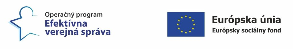 Operačný program Efektívna verejná správa, Európska únia